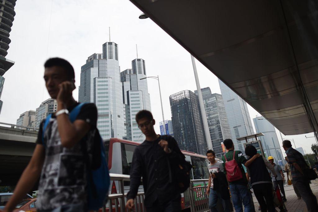 Ilustrasi ekonomi Tiongkok. (FOTO: AFP)
