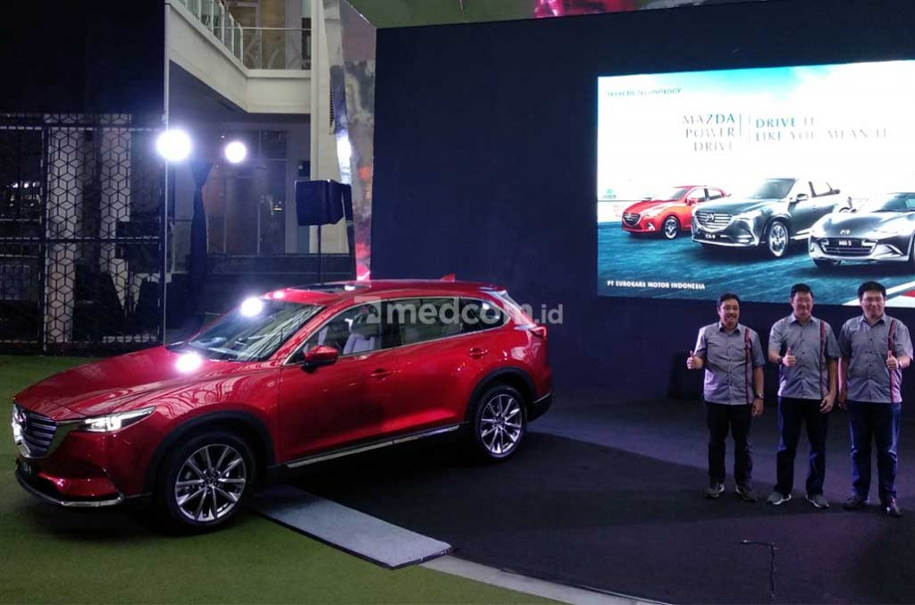 All New Mazda CX-9 ketambahan fitur baru. Medcom.id/M. Bagus Rachmanto