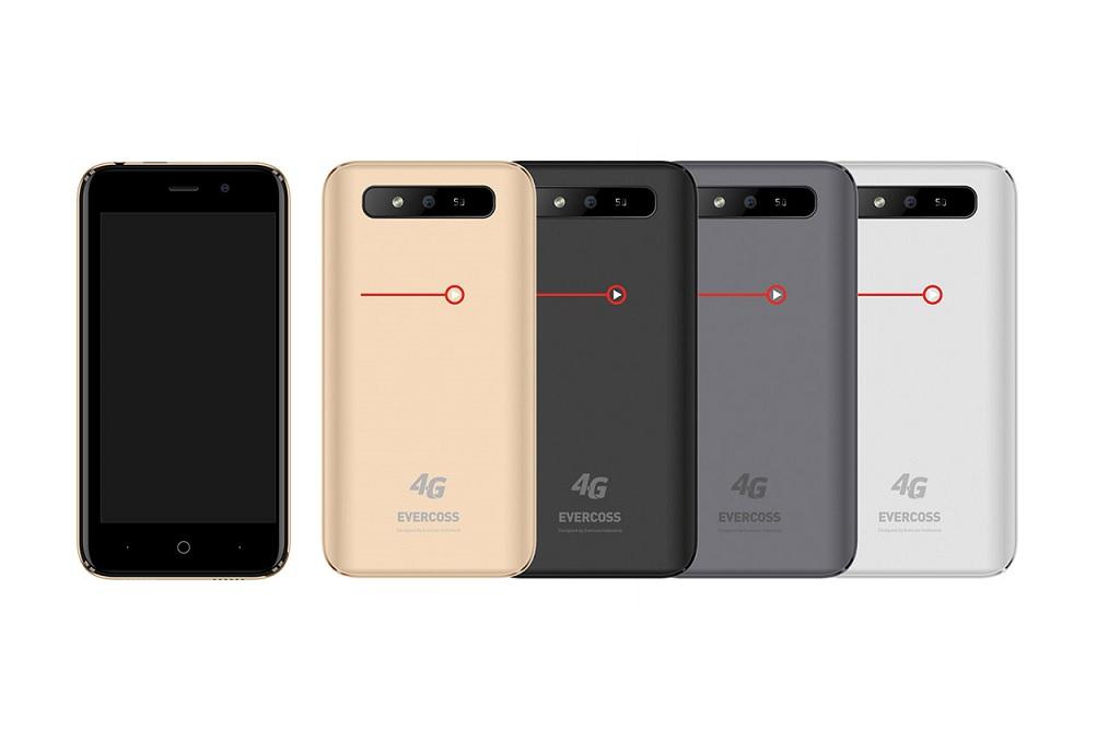 Evercoss menargetkan perusahaannya masuk ke lima produsen smartphone berpangsa pasar terbesar di Indonesia pada 2019.