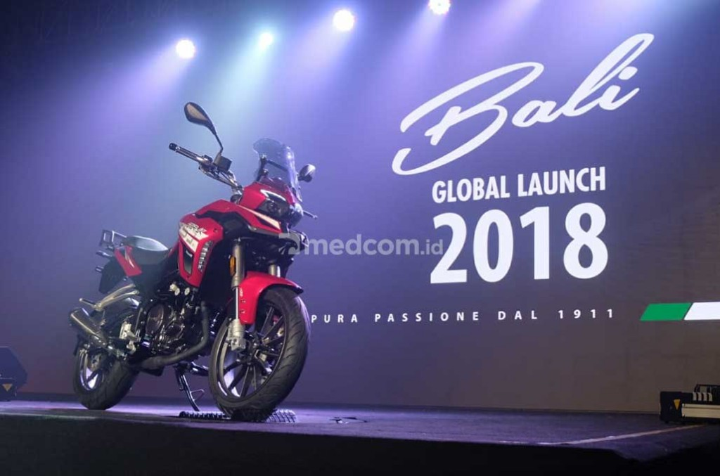 Benelli luncurkan line up motor barunya di Bali. medcom.id/Ekawan Raharja
