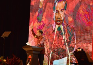 Jokowi Target Kuasai 82 Persen Suara Jateng