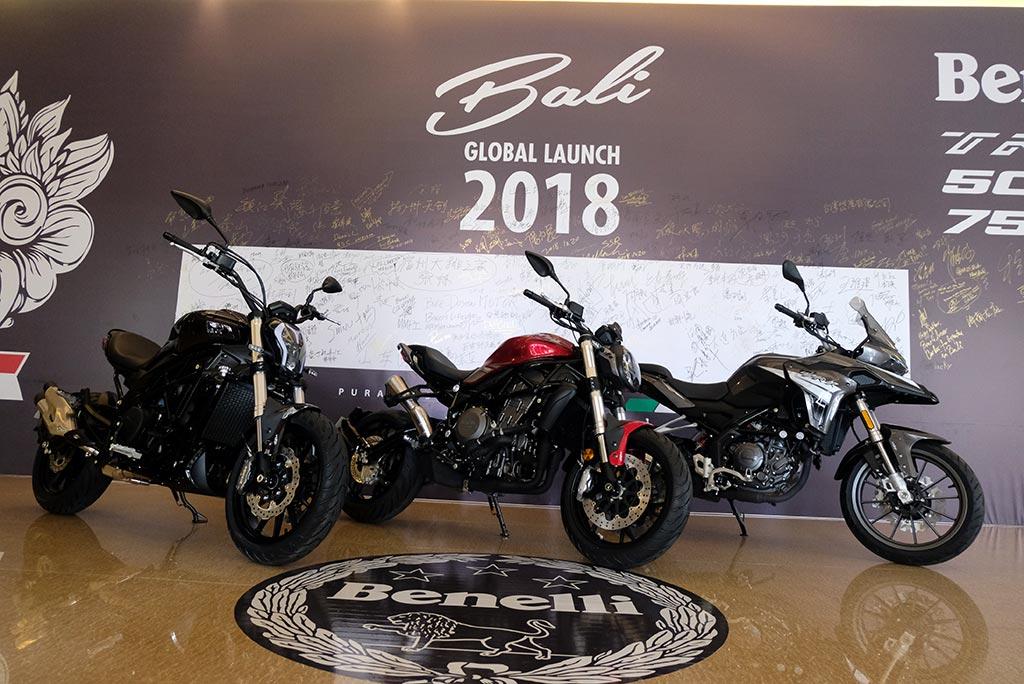 Debut global TRK 251, 502C, dan 752S di Bali. Medcom.id/Ekawan Raharja