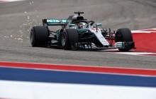 Hamilton <i>Start</i> Terdepan di GP AS