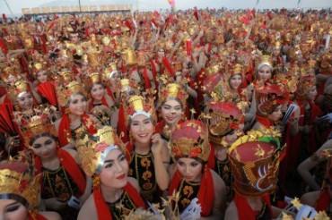 Gandrung Sewu Ditargetkan Jaring Wisatawan ke Banyuwangi