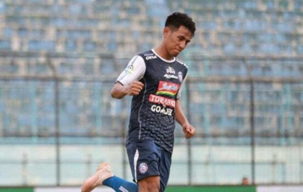 Pemain Arema FC, Hanif Sjahbandi (Foto: Arema)