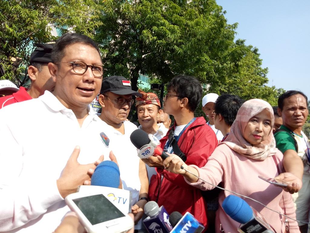 Menteri Agama RI Lukman Hakim Saifuddin - Medcom.id/Siti Yona Hukmana.