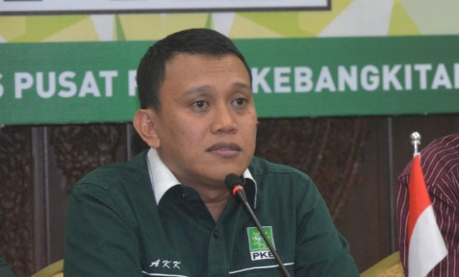 Wakil Ketua Tim Kampanye Nasional Koalisi Indonesia Kerja (TKN-KIK) Abdul Kadir Karding - MI/M Irfan.