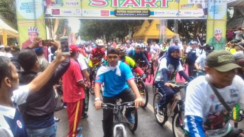 Sepeda Nusantara Langkat Filosofi Baik Untuk Bangsa