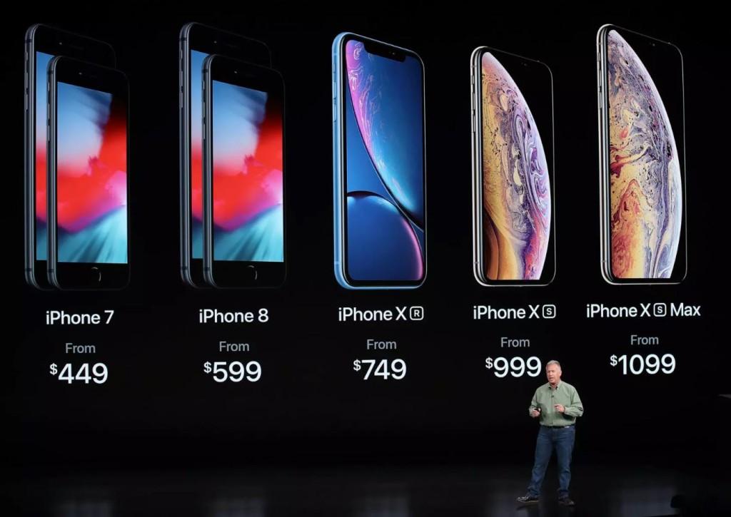 Peluncuran iPhone terbaru iPhone XR, XS, dan XS Max.