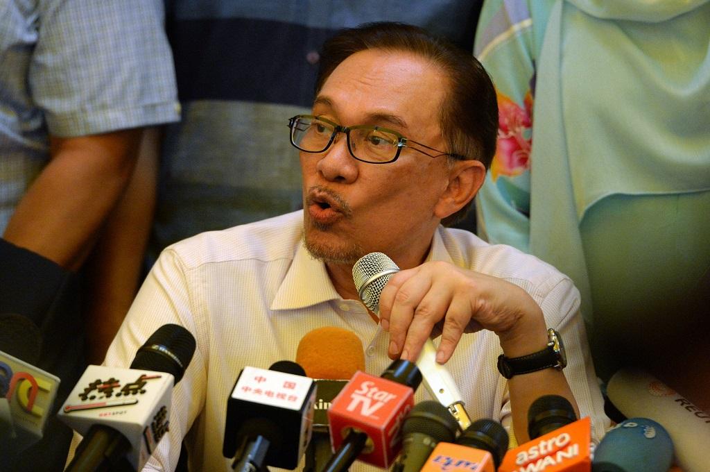 Anwar Ibrahim. (Foto: AFP)