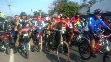 Atlet BMX dan Hadiah Menarik Meriahkan Sepeda Nusantara di Blitar