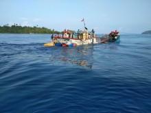 Kapal Kargo Tenggelam di Perairan Anambas
