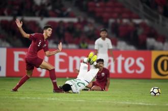 Timnas Indonesia Kalah 5-6 dari Qatar