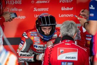 Kekecewaan Dovizioso setelah Gagal Meredam Marc Marquez