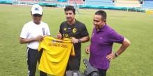Angel Alfredo Vera Resmi Latih Sriwijaya FC