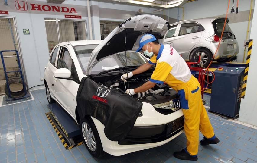 Penyamaan harga komponen otomotif dijaga betul oleh Honda. HPM