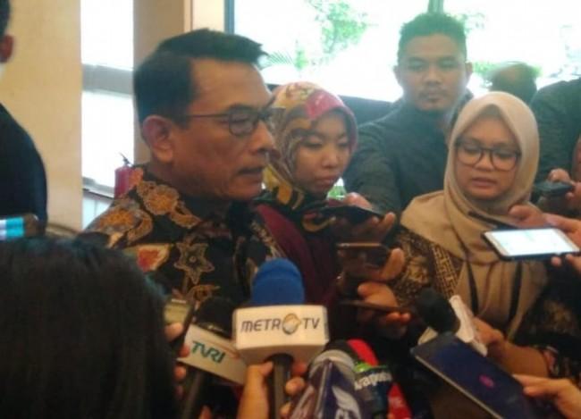 Kepala Staf Khusus Kepresidenan (KSP) Moeldoko - Medcom.id/Achmad Zulfikar Fazli.