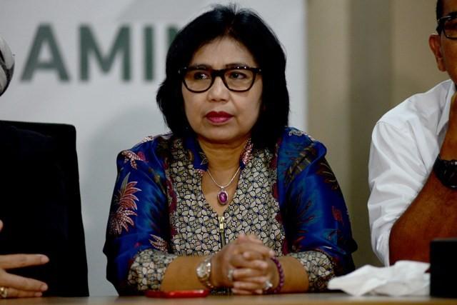 Juru Bicara Tim Kampanye Nasional Koalisi Indonesia Kerja (TKN-KIK) Irma Suryani Chaniago--MI/SUSANTO