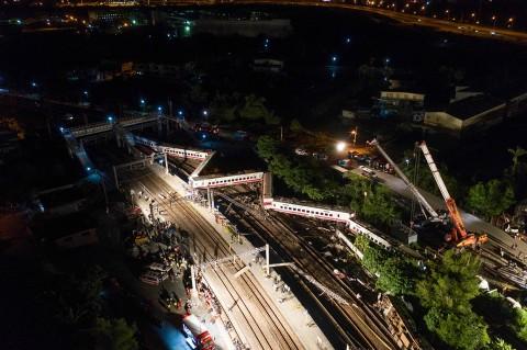18 Tewas dalam Kecelakaan Kereta Api di Taiwan
