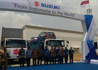 Menperin Lepas Ekspor Kendaraan Suzuki Buatan Indonesia