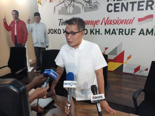 Influencer Tim Kampanye Nasional Koalisi Indonesia Kerja (TKN-KIK) Budiman Sudjatmiko--Medcom.id/M Sholahadhin Azhar.
