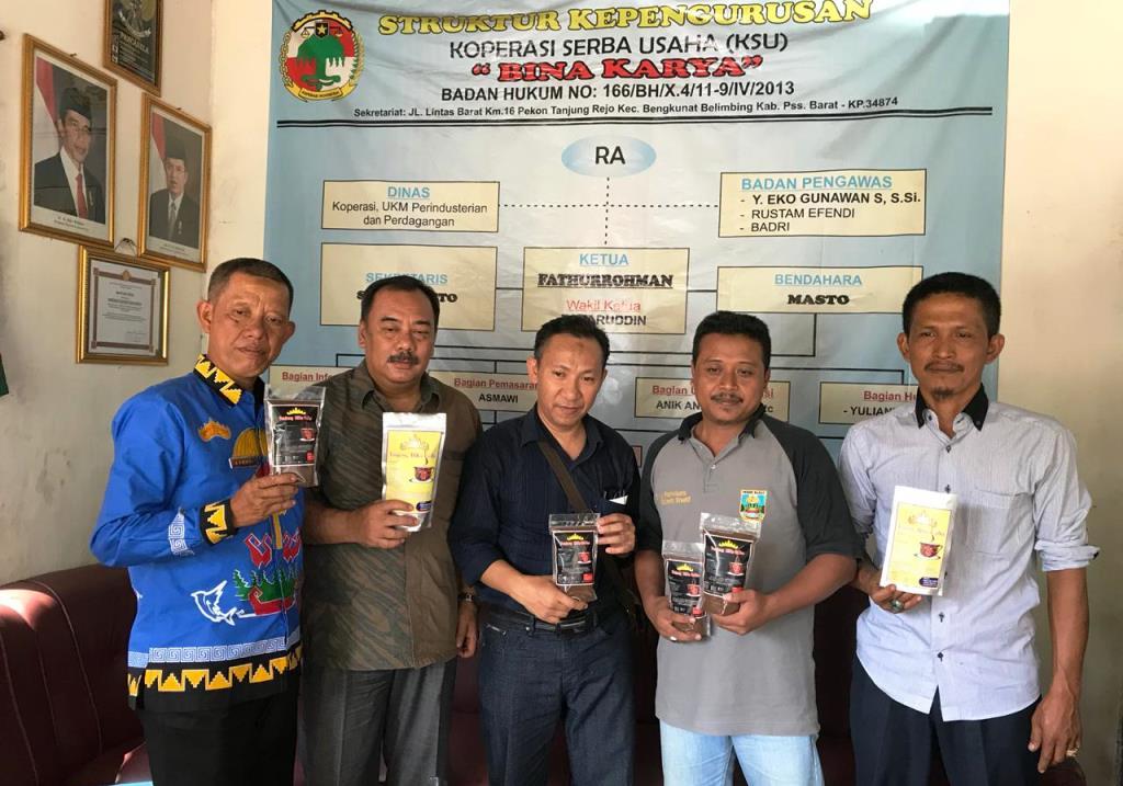 ?Kemenkop UKM Tingkatkan Nilai Jual Kopi  di Lampung. (Foto: Dok. Kemenkop UKM)