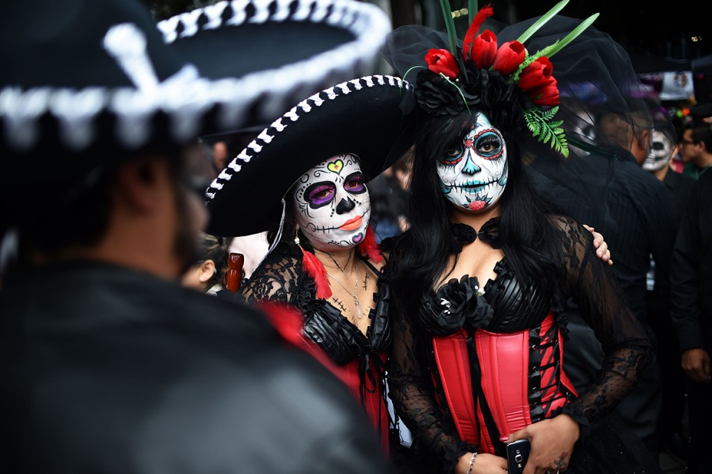 Melihat Perayaan Festival Kematian di Meksiko