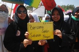 Peringatan Hari Santri Nasional di Sejumlah Daerah