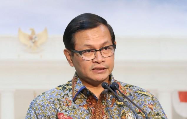 Sekretaris Kabinet Pramono Anung - MI/Ramdani.