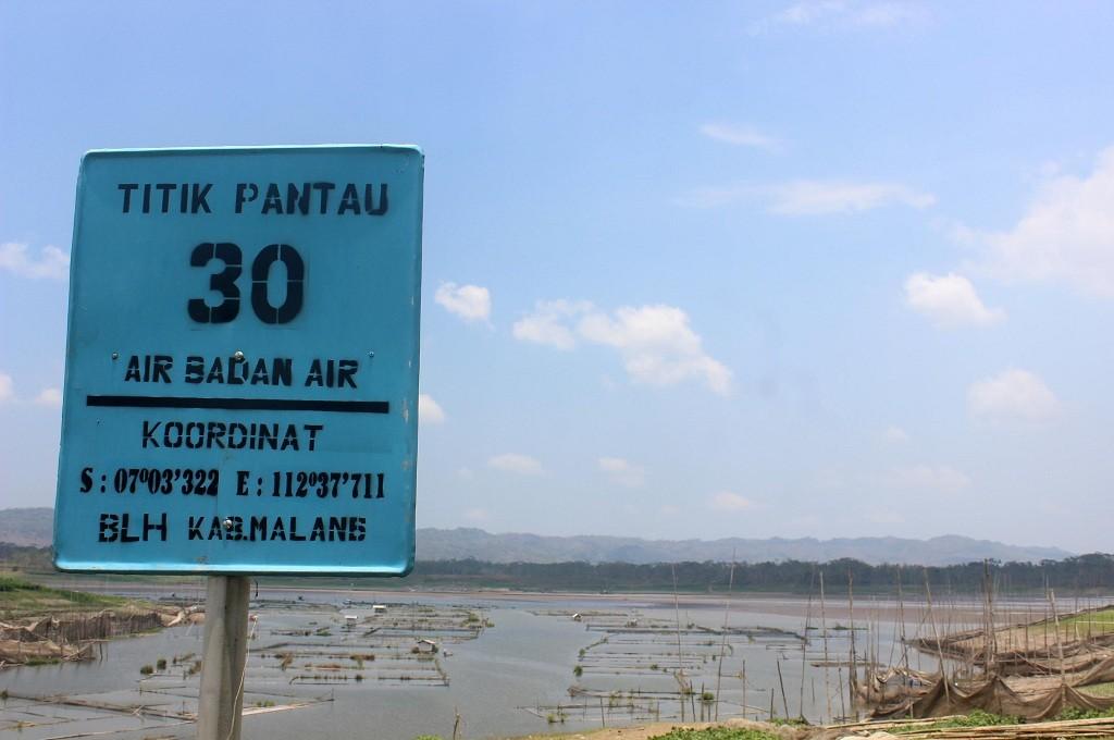 AIr di Bendungan Sutami mulai mengering, 30 September 2018, MI - Bagus Suryo