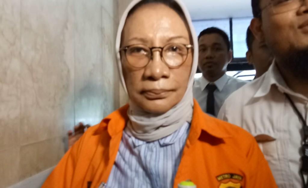 Ratna Sarumpaet, tersangka penyebaran cerita bohong. Foto: Medcom.id/Siti Yona Hukmana.
