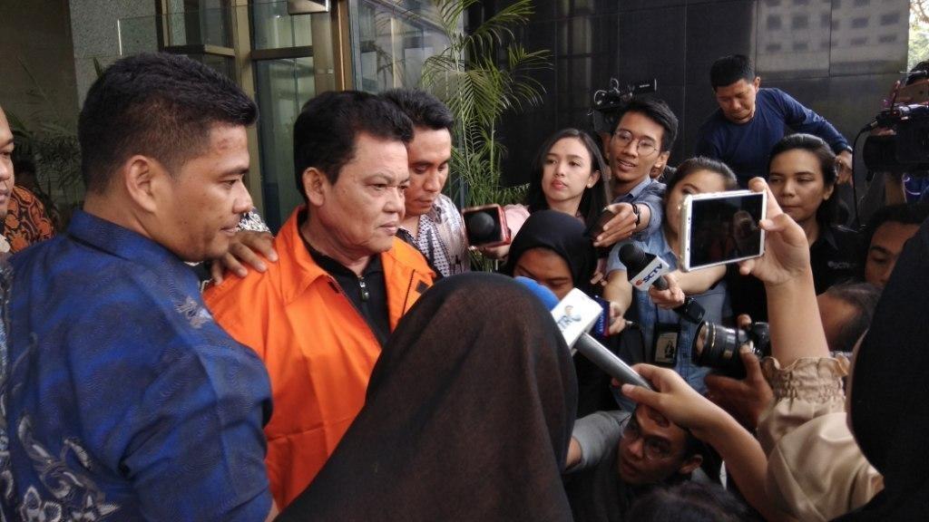 Wali Kota Pasuruan Setiyono ditahan KPK. Foto: Medcom.id/Fachri Audhia Hafiez.
