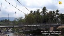 Kementerian PUPR Bangun 134 Jembatan Gantung