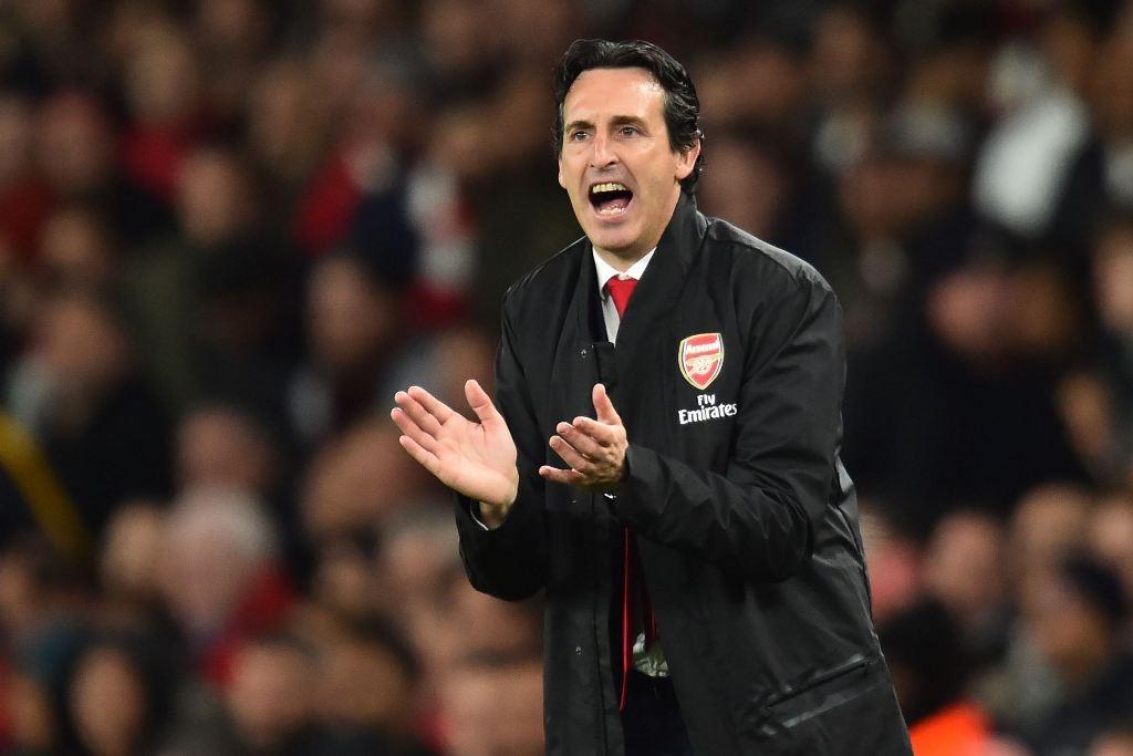 Pelatih Arsenal, Unai Emery (AFP/Glyn Kirk)