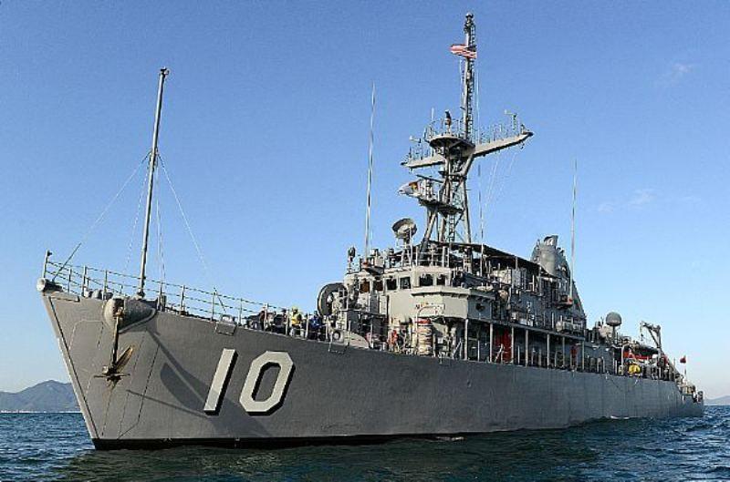Kapal perang Amerika Serikat USS Curtis Wilbur. (Foto: US Navy).