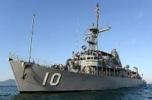 Kapal Perang AS Melenggang di Selat Taiwan