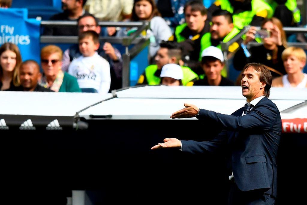 Pelatih Real Madrid, Julen Lopetegui (AFP/Gabriel Bouys)
