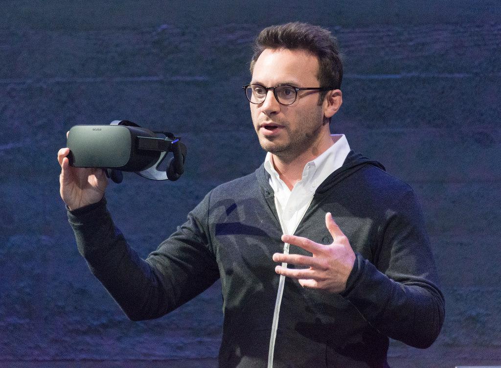CEO Oculus, Brendan Iribe.