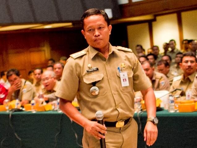 Kepala Dinas Lingkungna Hidup DKI Jakarta Isnawa Adji. Foto: MI/Atet.