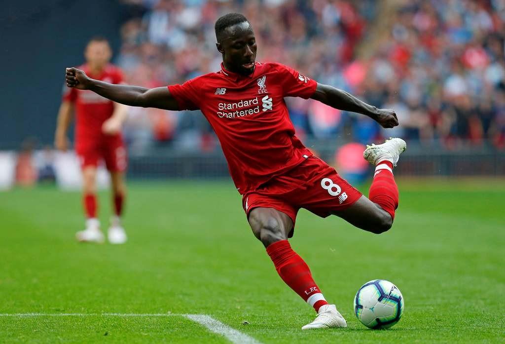 Gelandang Liverpool, Naby Keita (AFP/Ian Kington)