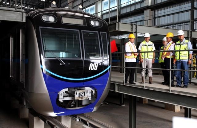 MRT di Depo Lebak Bulus/MI/Adam Dwi