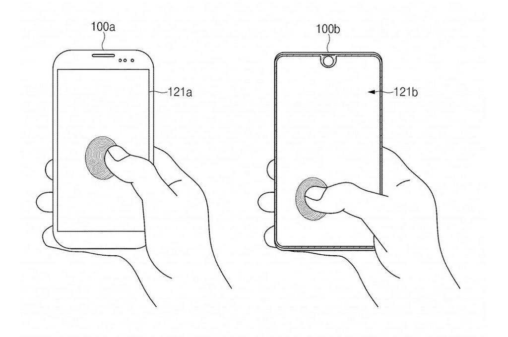Samsung mematenkan cara untuk menjadikan seluruh permukaan layar sebagai sensor pemindai sidik jari.