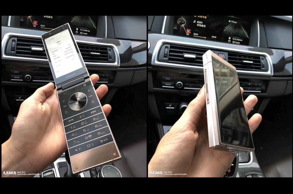 Bocoran video menampilkan smartphone lipat terbaru Samsung, W2019, beredar di internet.
