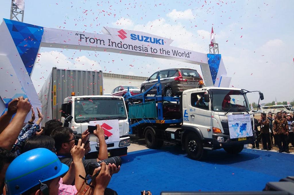 Suzuki Indonesia sudah mengekspor 2,5 juta unit mobil dan 11 juta unit sepeda motor sejak 1970.