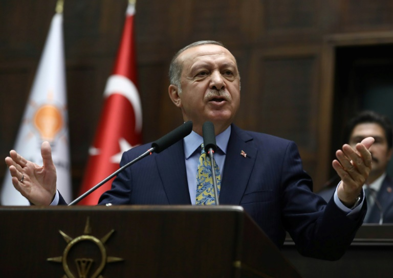 Presiden Turki Recep Tayyip Erdogan (Foto:AFP)