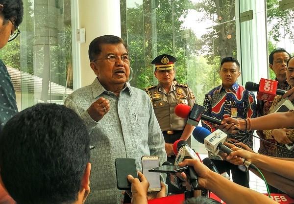 Wakil Presiden jusuf Kalla - Medcom.id/Dheri Agriesta.