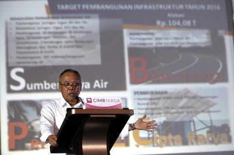 Menteri Pekerjaan Umum dan Perumahan Rakyat Basuki Hadimuljono MI/Panca.