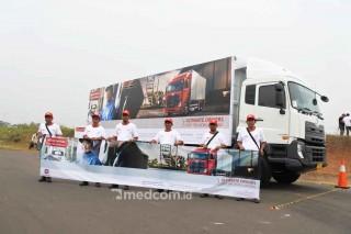 Final Kompetisi Berkendara Irit UD Trucks, Diikuti Asia dan Australia