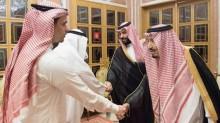 Raja Salman Bertemu Anak Khashoggi di Riyadh