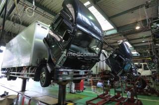 Ulik Layanan Telematik Bengkel UD Trucks Yokohama